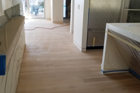 wooden design flooring with proper finishing