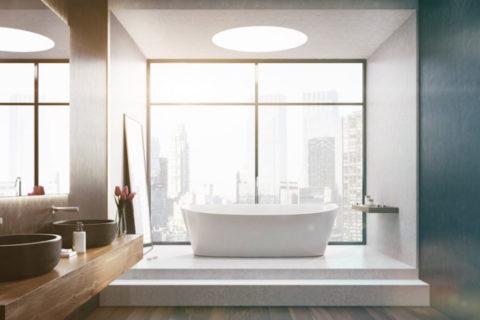 Los Angeles home had bathroom remodeling done by LA Home Contractor.
