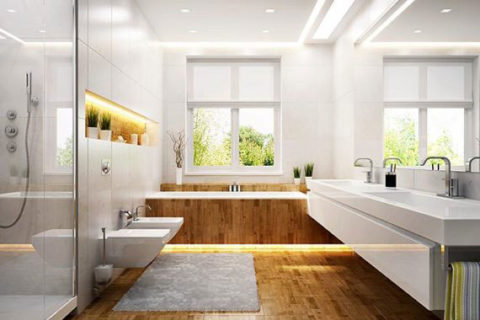 LA Home Contractor's beautiful bathroom renovations for resident in Los Angeles.