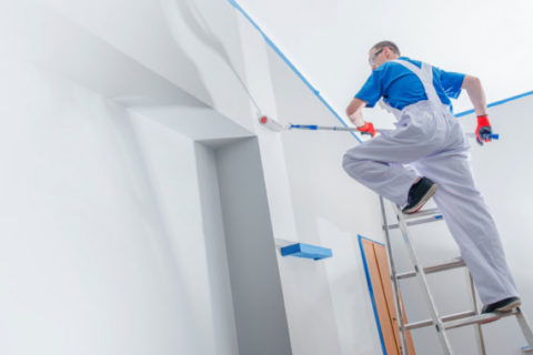Paint contractor in Los Angeles provides interior painting.