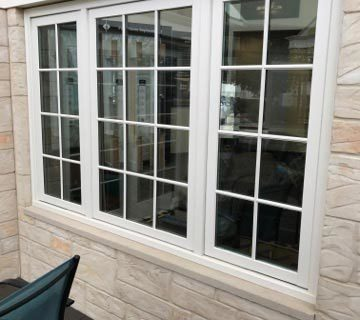 Window and door installation services provided by LA Home Contractor.