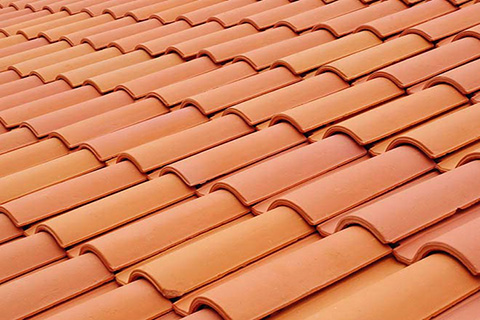 Newly installed roofing in los angeles